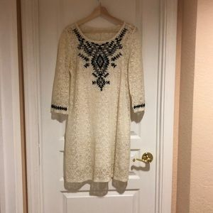 Boho Cream Lace dress